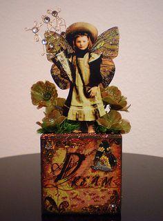 Bouquet altered art