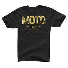 T-Shirt Alpinestars Motostart Black
