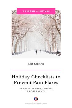 Here are a few holiday checklists for those who live with chronic illness, and also for those who'd like to show their support. Happy holidays to all! Click to get the lists. //////// Chronic Illness / Mental Health / Self-Care / Christmas / Holidays / Infographics #ChronicIllness #Christmas #holidays #infographic