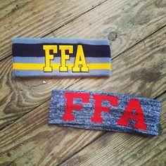 FFA knit headbands. #FFAstyle