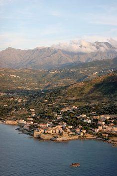 Photo aérienne de Algajola - Haute-Corse (2B)