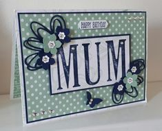 Stampin' Up! Demonstrator stampwithpeg –Happy Birthday : Large Letters and Petite Petals. Last night I added the Stampin' Up! retiring list on my blog, I think the
