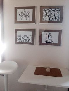 Yaya Artwork framed looks amazing at Customer´s home
