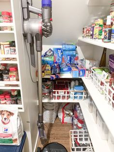 """I spent most of Saturday tackling my pantry. It was a MESS and needed some major TLC! Luckily after lots of work and a few moments of """"what was I thinking?"""" I felt better and it was finished! For me, the past few months of being stuck at home has taken a toll on our house. It's become much more cluttered and chaotic and the pantry was just one example of a messy space! If you're needing to tackle your pantry, then today's post is for you! I'm sharing all of my pantry organization essentials! Pantry Organization, Organizing, Cereal Containers, Fancy Kitchens, What Was I Thinking, Ashley Home, Best Blogs, Love Home, Have A Great Day"""