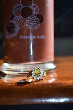 Just got my ring out of my first Diamond Candle!  Not only do they smell good, but every candle has a ring in it valued from $10 - $5,000!  Here's $5 off your purchase!  http://my.cndl.es/x/nuLR9E