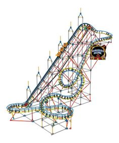 Take a look at this Sorcerer's Eclipse Roller Coaster Set by K'NEX on #zulily today!