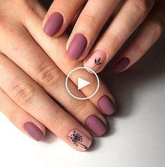 Stylish Nails, Trendy Nails, Short Nail Designs, Nail Art Designs, Nails Design, Burgundy Nail Designs, Latest Nail Designs, Matte Nails, Acrylic Nails