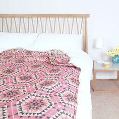 KOC narzuta House of Rym Heavenly Honeycomb różowy - NORD-Home - Narzuty na łóżko