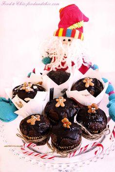 {Especial Navidad} Magdalenas de chocolate especiado. @Food&Chic