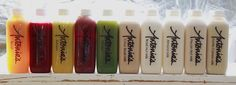 Antonia's Cold-Pressed Juice and Dairy Free Nut Milk Range. Cold Pressed Juice, Juice Cleanse, Red Bull, Dairy Free, Milk, Range, Drinks, Drinking, Cookers