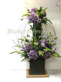 birdcage flower design #Floral Arrangment