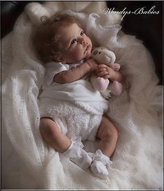 A*WENDYS BABIES* A BEAUTIFUL LIFELIKE REBORN / NEWBORN BABY GIRL DOLL
