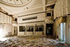 Abandoned theatre by varlamov, via Flickr