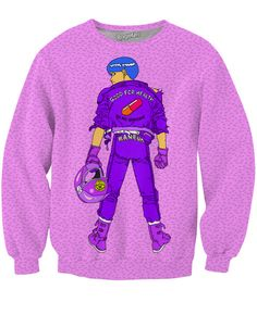 Thisall-over-printKaneda Sweatshirt by Technodrome1 features the main protagonist fromthe classic anime film, Akira! Get yours today, only from RageOn!