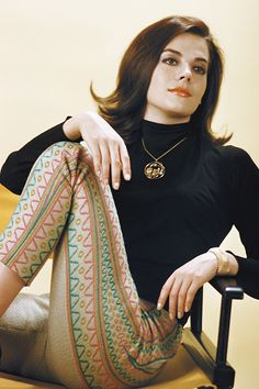 Natalie Wood photographed by Ernst Haas, 1961. When she was absent, apparently, her mannequin double would show up for these shoots.