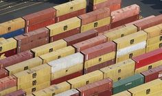 China has overtaken the US in annual trade in goods, according to official figures. Photograph: Mark Lennihan/AP