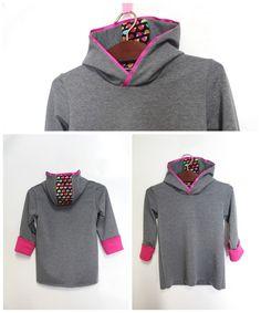 Hoodie nähen von alles-fuer-selbermacher Pullover