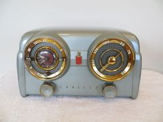 VINTAGE RARE COLOR OLD CROSLEY MODERNISTIC MID CENTURY BAKELITE DASHBOARD RADIO in Sound & Vision, Vintage, Radios | eBay