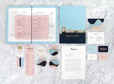 New Brand Identity for The Palomar by Here - BP&O
