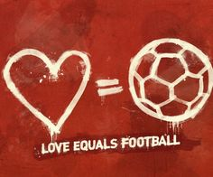 <3 = soccer! This is my next Tattoo for sure!