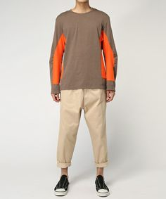 GANRYU Men's(ガンリュウ メンズ)の2015-16FW ウエポンテーパードパンツ(チノパンツ)|詳細画像