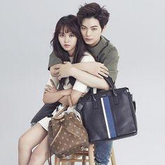 yook sungjae x kim so hyun Ahn Jae Hyun, Lee Hyun, Joo Hyuk, Asian Actors, Korean Actresses, Korean Actors, Korean Dramas, Who Are You School 2015, Kim So Hyun Fashion