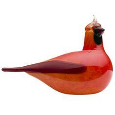 Oiva Toikka: Red Cardinal for Iittala