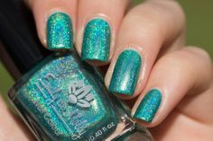 Sold. Emily de Molly Land of Confusion (swatched 2x, $8)