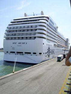 M.S.C. Musica Cruise Ships, Palermo, Bucket, Sea, Tips, Travel, Musica, Trips, Viajes