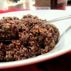 Fudgey-nutty choco-oats