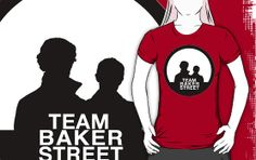 """Team Baker Street"" T-Shirts & Hoodies by audrienne 