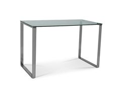 The Classique range is a must have! It's modern style makes it perfect for a diverse range of settings. With just a simple plain tempered glass top, supported by two stainless steel frames, it is a very unimposing piece. Pair it with a coffee table or a small desk and add a classic touch to your h