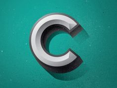 I looking into how other designers and typographers have visualized the letter C.