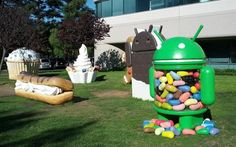 Google Gets A New Android Lawn Sculpture, But It's Not What You Think ^mj