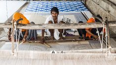 Weaving a Dhurrie rug - doing what we love with people we love.  Made around little villages in North India, this cottage industry supports entire families and women empowerment. For a handmade product - These rugs are reasonably priced in order to keep the artisans going with continued orders. This industry has been impacted by mass and fast production and supporting it helps save the vanishing looms.  #incredibleindia #handwoven #handmade #artisan #color #interiors #interiordesign… Flatweave Rugs, The Vanishing, North India, Incredible India, Outdoor Furniture, Outdoor Decor, We The People, Women Empowerment, Hand Weaving