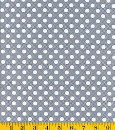 Creating New Traditions- Made in America Dots Dots Gray