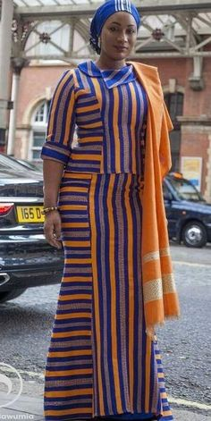 Go Traditional With These Kente Styles - Sisi Couture Latest African Fashion Dresses, African Dresses For Women, African Print Fashion, Africa Fashion, African Attire, African Women, African Prints, Men's Fashion, African Blouses