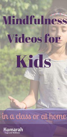 Mindfulness for Kids Videos Mindful Videos Teaching Mindfulness to Kids Teaching Mindfulness, Mindfulness Exercises, Mindfulness Activities, Mindfulness Practice, Kids Mindfulness, Pranayama, Mindfullness For Kids, Mindfulness Techniques, Anxiety In Children