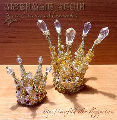 любимые вещи handmade: Корона! Золотая, две штуки...