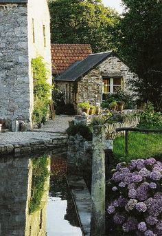 Medieval Village, Cote Ouest, France