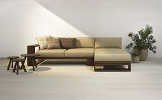 Designer Swiss L Shape Sofa | Swiss Wooden Collection