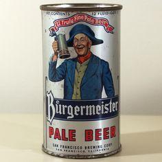 Burgermeister Pale Beer (Green Shirt) 046-34 Beer