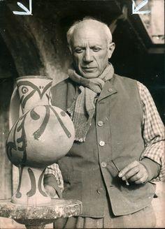 picasso pottery vase