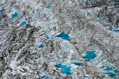 Glaciers in Kluane National Park, Yukon
