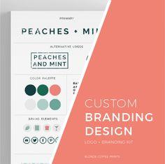 Custom Logo and Brand Package, Custom Branding, Custom Logo, Brand Identity by…