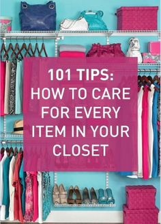 Fashionistas read-up! Avoid neglecting your fav pieces with these must-read tips.
