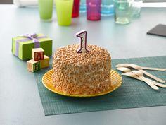 Cheerio Birthday Cake for your toddler!