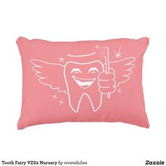 Tooth Fairy VZS2 Nursery Accent Pillow