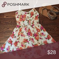 ☀️Beautiful Pac Sun Sundress! ☀️ This is such a lovely, light floral sundress and is so flirty and cute! Only worn a few times because it's pretty short on me, so it's in excellent condition!  PacSun Dresses
