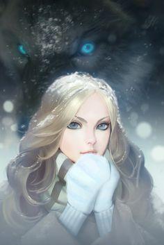 Alice, Aleksandr Nikonov on ArtStation at https://www.artstation.com/artwork/alice-70ab95a6-5998-4631-ab58-04aa23775e22